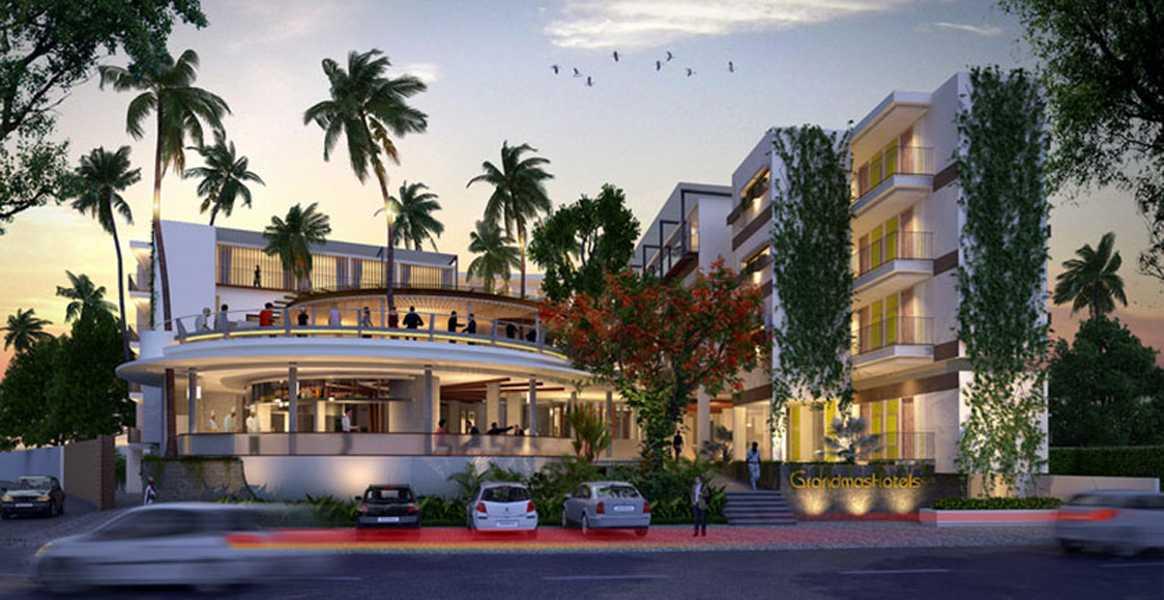Imago Design Studio Grandmas Hotel Seminyak Seminyak, Bali Seminyak, Bali Front View Rendering Tropical 8918