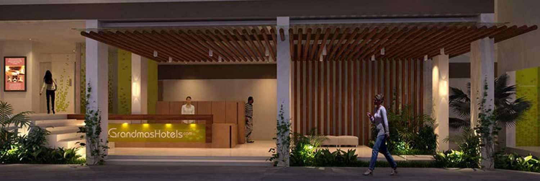 Imago Design Studio Grandmas Hotel Seminyak Seminyak, Bali Seminyak, Bali Lobby View Modern 8921