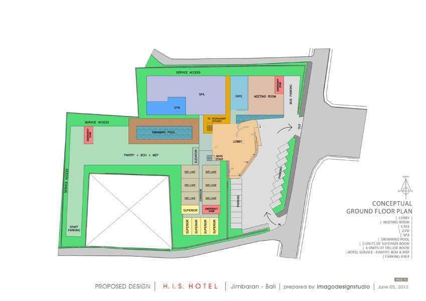 Imago Design Studio H.i.s. Hotel At Jimbaran Jimbaran, Bali Jimbaran, Bali Site Plan Kontemporer 8945