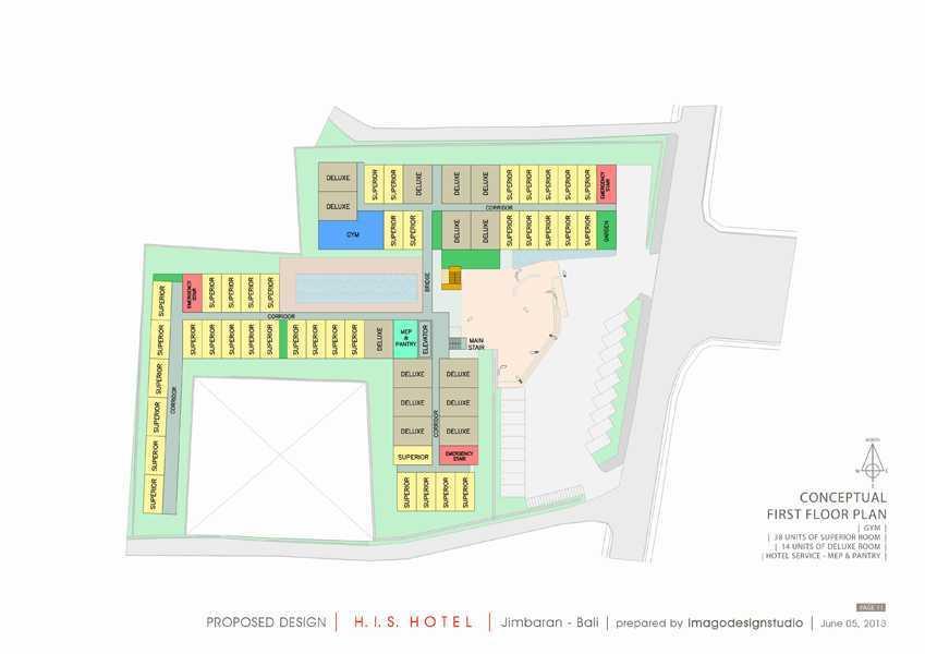 Imago Design Studio H.i.s. Hotel At Jimbaran Jimbaran, Bali Jimbaran, Bali Site Plan Kontemporer 8946