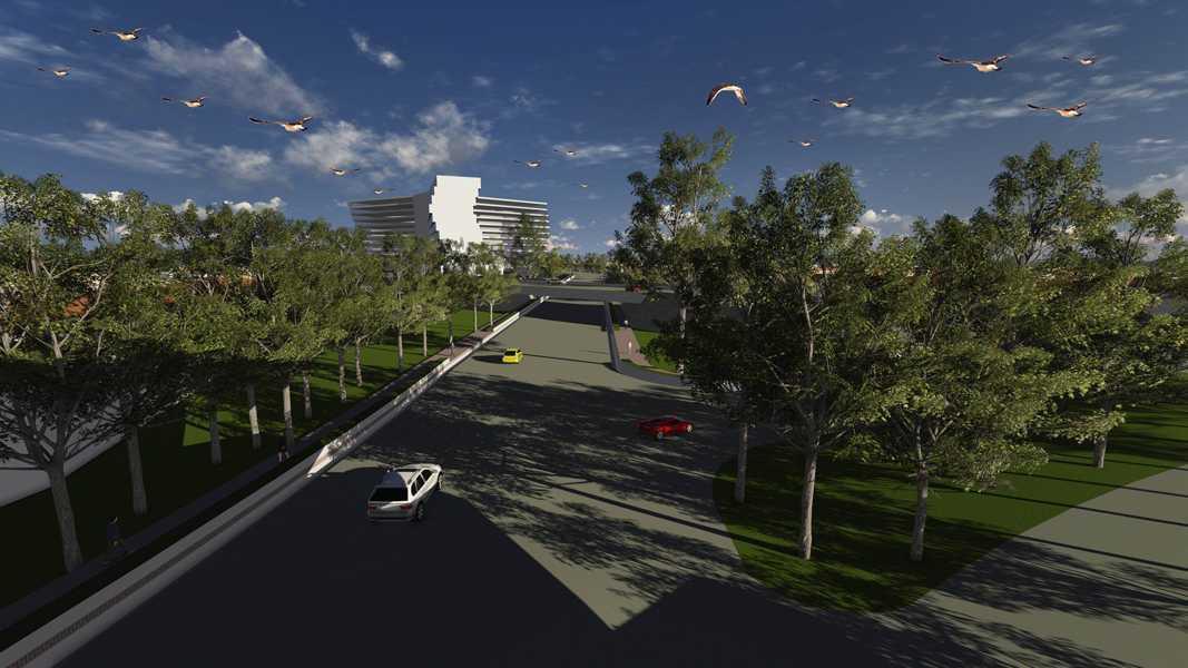 Imago Design Studio Menganti Residences Surabaya Surabaya Menganti-Residences-7 Tropis 9000