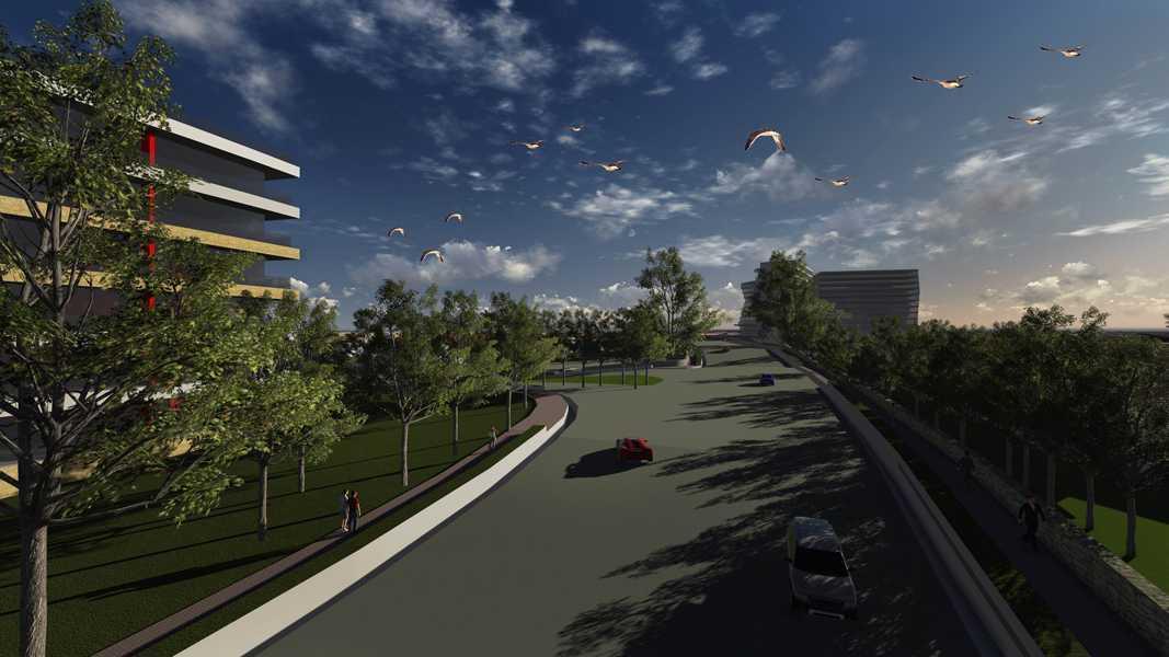 Imago Design Studio Menganti Residences Surabaya Surabaya Menganti-Residences-6 Tropis 9003