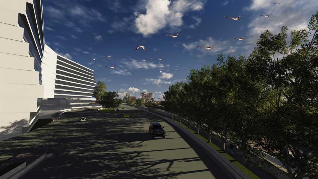 Imago Design Studio Menganti Residences Surabaya Surabaya Menganti-Residences-11 Tropis 9004