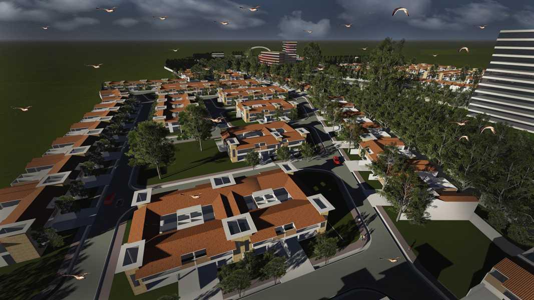 Imago Design Studio Menganti Residences Surabaya Surabaya Bird Eye View Tropis 9012