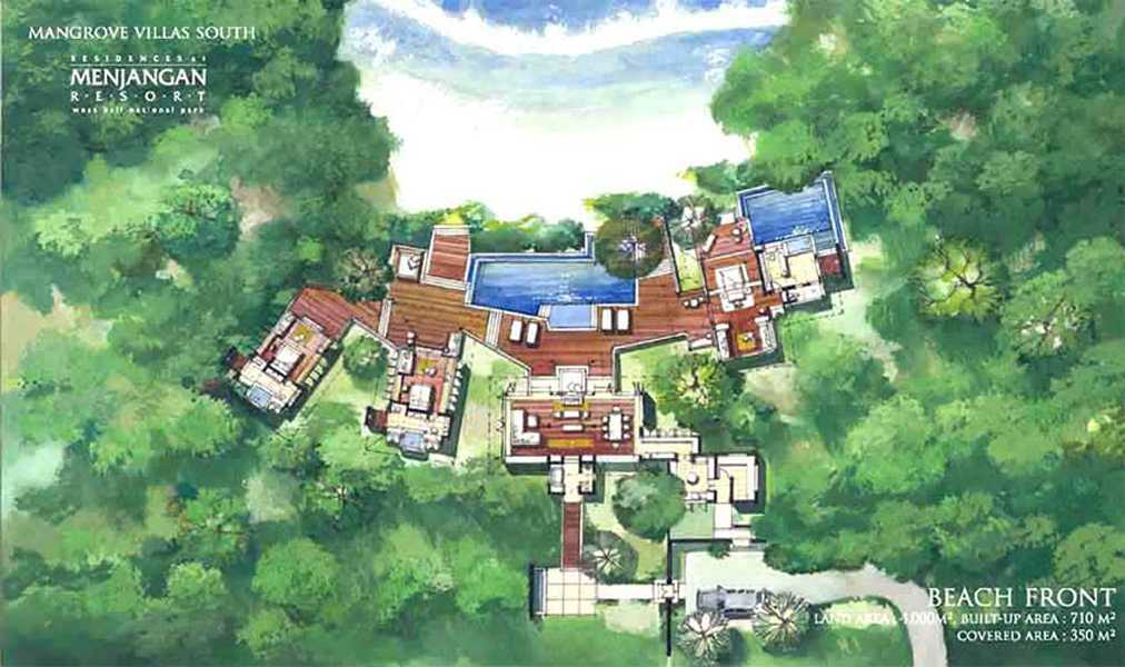 Imago Design Studio Menjangan Properties Taman Nasional Bali Barat Taman Nasional Bali Barat Site Plan Tropis 9015