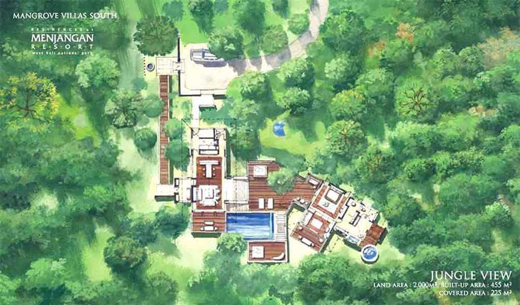 Imago Design Studio Menjangan Properties Taman Nasional Bali Barat Taman Nasional Bali Barat Site Plan Tropis 9019