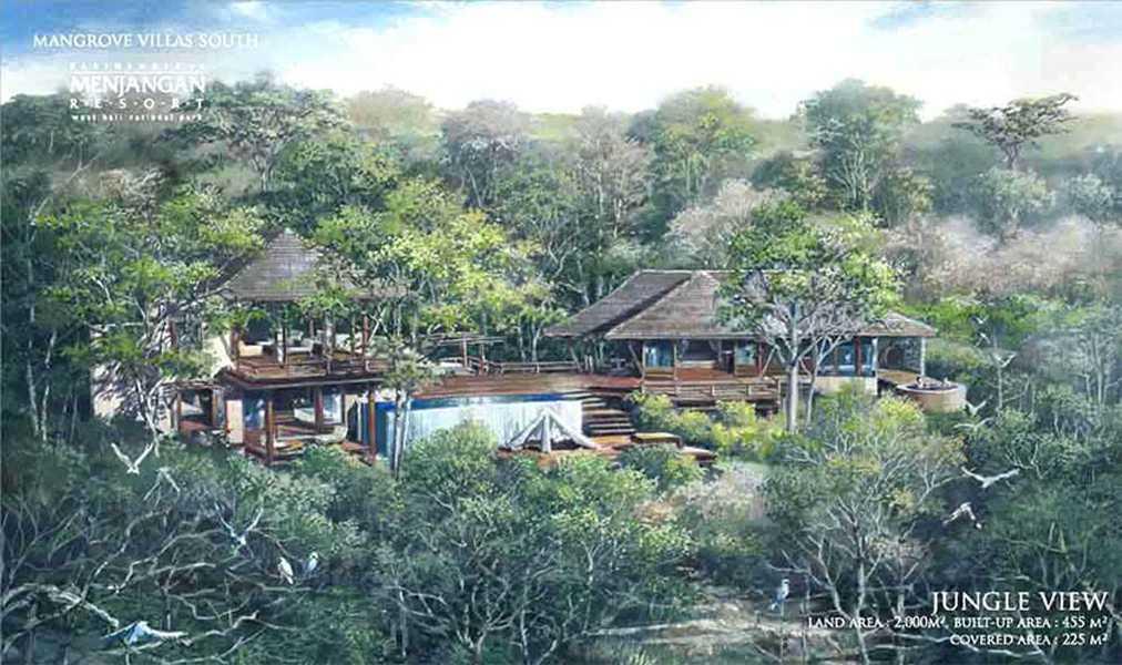 Imago Design Studio Menjangan Properties Taman Nasional Bali Barat Taman Nasional Bali Barat Jungle View Tropis 9021