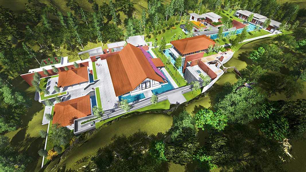 Imago Design Studio Puri Avia & Athalia Resort Bogor Bogor Bird Eye View Modern 9028