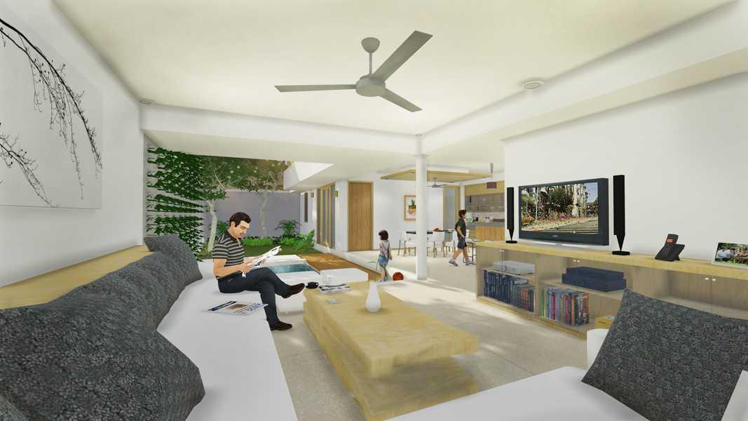 Imago Design Studio Rumah Sendjaja Bandung Bandung Livingroom  9057