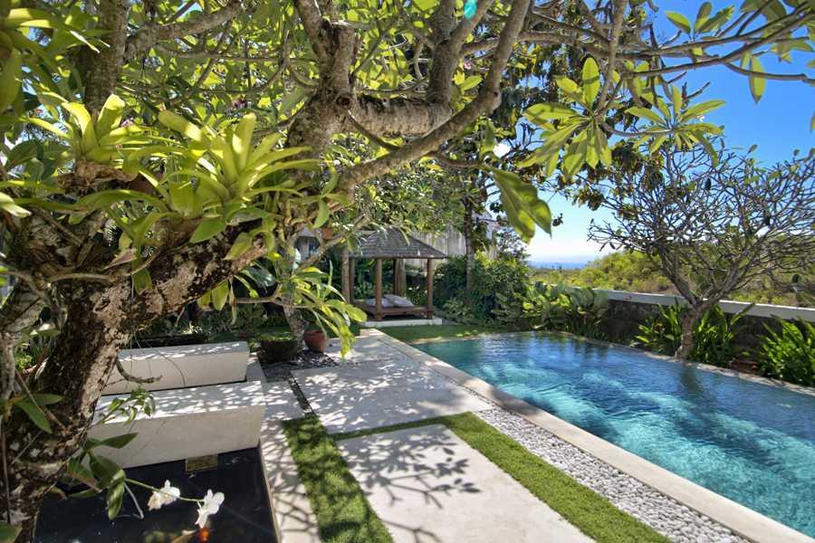 Imago Design Studio Villa Champa Balangan, Bali Balangan, Bali Swimming Pool View Tropis 9144