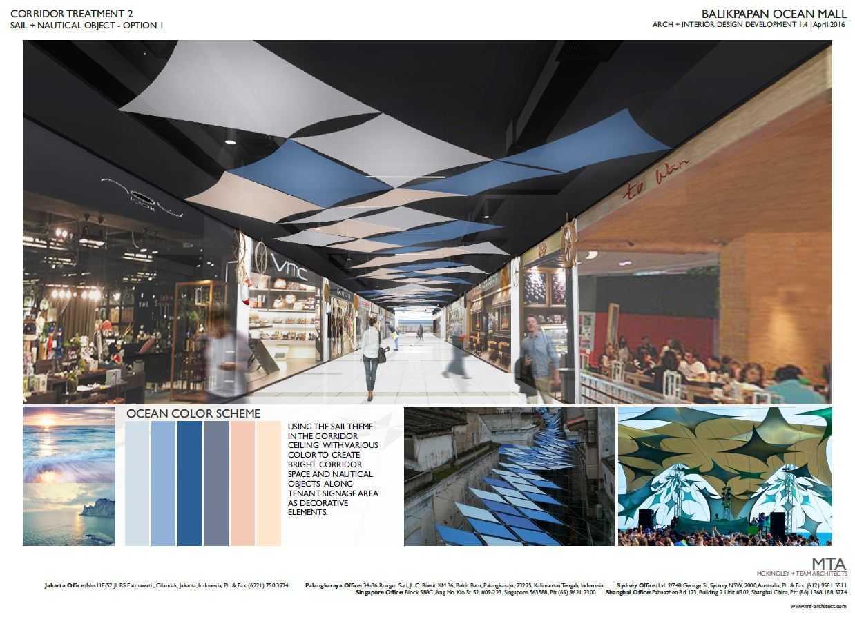 Project Balikpapan Ocean Square desain arsitek oleh MTA ...