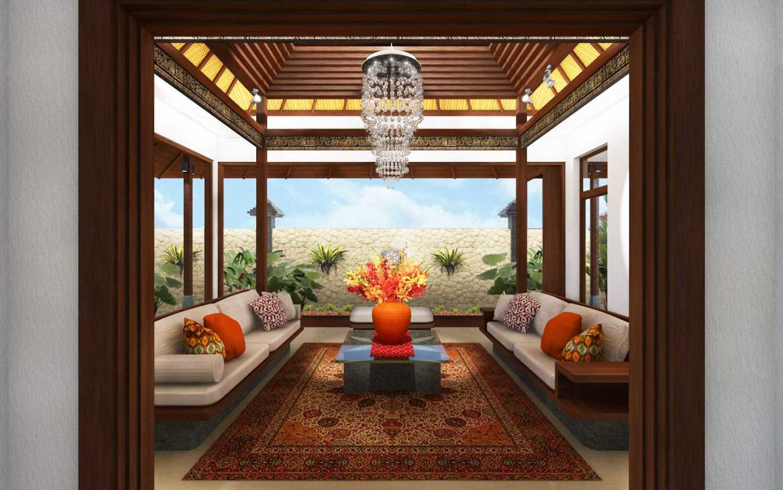 Mta Singhasari Resort Malang, East Java Malang, East Java Presidential Suite Pendopo Living Room  8773