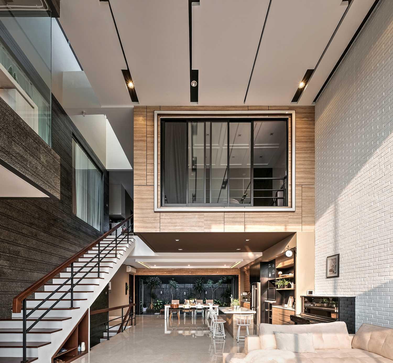 Dp+Hs Architects R+E House Daerah Khusus Ibukota Jakarta, Indonesia Daerah Khusus Ibukota Jakarta, Indonesia Dphs-Architects-Re-House Modern 51422
