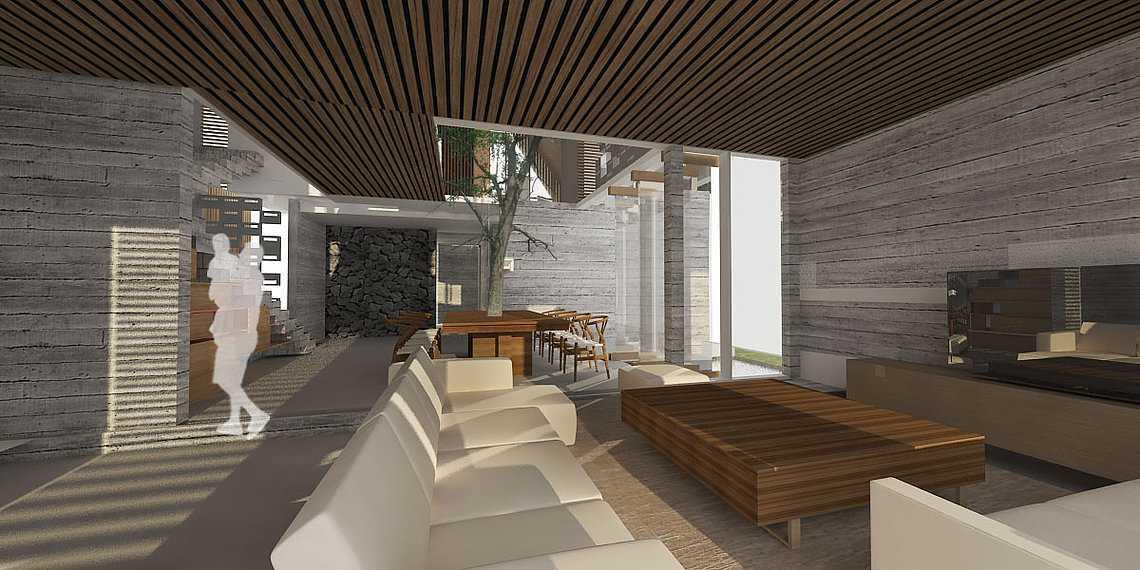 Studio Asri Perforated House Bali, Indonesia Bali, Indonesia Livingroom  8559