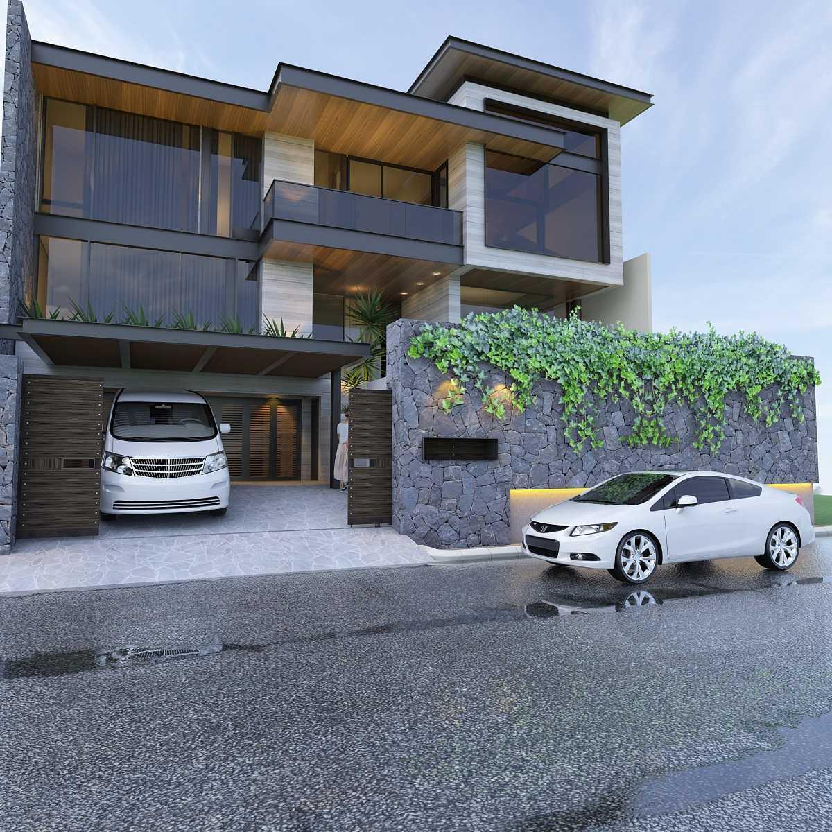 Pt. Indodesign Kreasi Mandiri Pantai Indah Kapuk House Jakarta, Indonesia Jakarta, Indonesia Facade-Option-2  8629