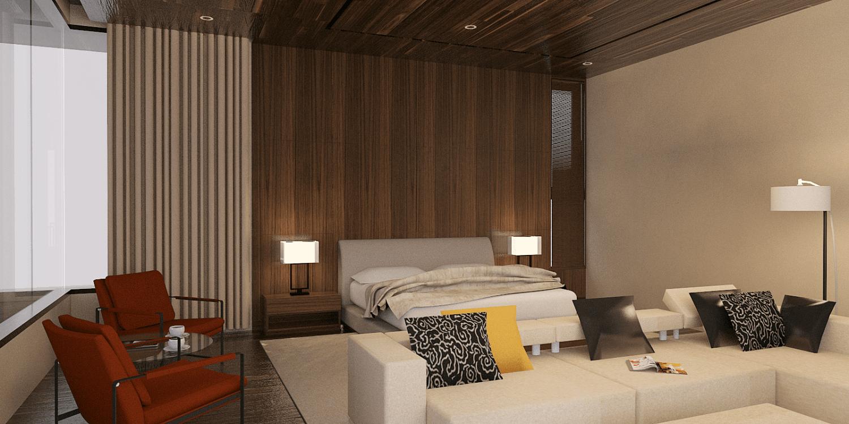 Pt. Indodesign Kreasi Mandiri Pantai Indah Kapuk House Jakarta, Indonesia Jakarta, Indonesia Master-Bedroom  8633