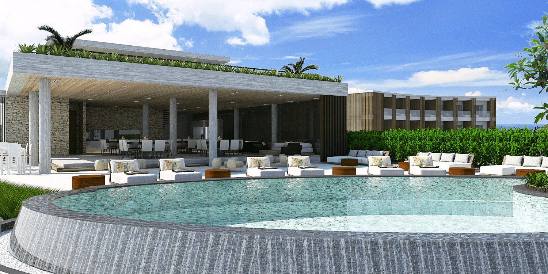 Pt. Indodesign Kreasi Mandiri Lombok Hotel South Lombok Kuta South Lombok Kuta Swimming Pool Area  16093