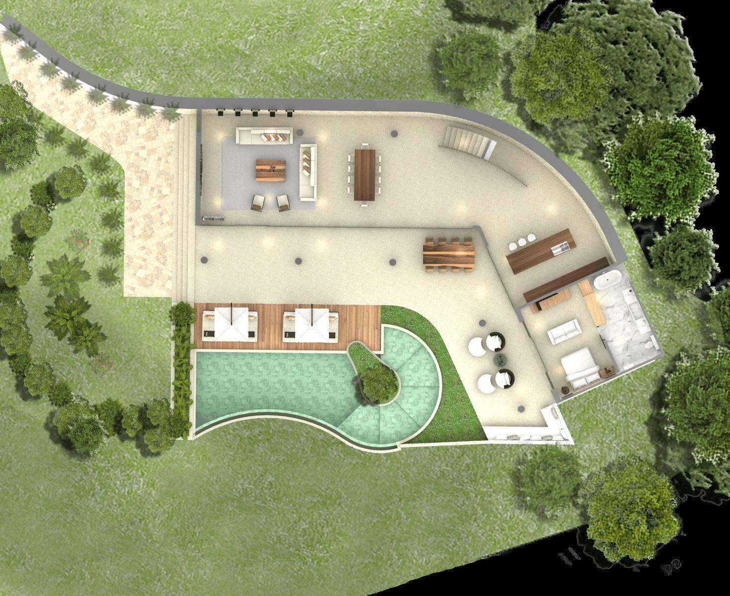 Pt. Indodesign Kreasi Mandiri Lombok Hotel South Lombok Kuta South Lombok Kuta Plan-Villa  16107
