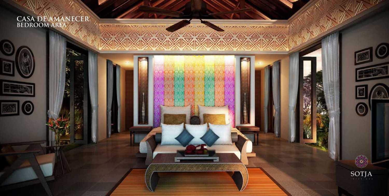 Sotja Interiors Casa De Amanecer Bocal Del Toro, Panama Bocal Del Toro, Panama Bedroom-Area  8712