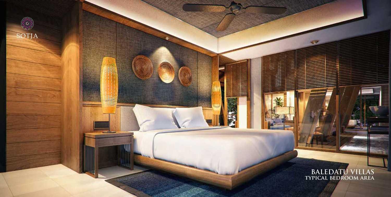 Sotja Interiors Baledatu Villas At Senggigi Lombok, Indonesia Lombok, Indonesia Typical Bedroom Area  9917