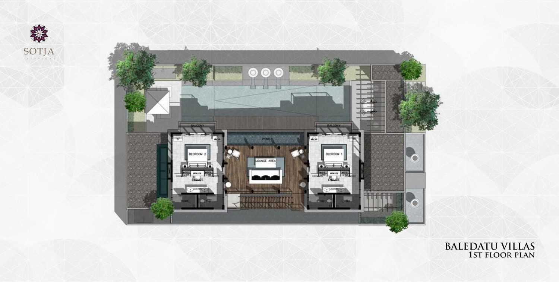 Sotja Interiors Baledatu Villas At Senggigi Lombok, Indonesia Lombok, Indonesia 1St Floor Plan  9988