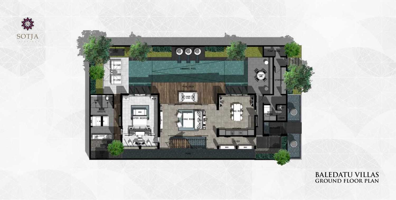 Sotja Interiors Baledatu Villas At Senggigi Lombok, Indonesia Lombok, Indonesia Ground Floor Plan  9989