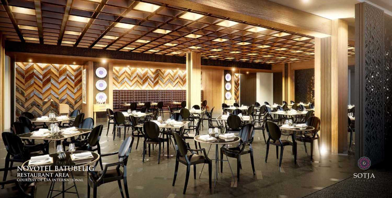 Sotja Interiors Novotel At Batu Belig Bali, Indonesia Bali, Indonesia Restaurant-Area Kontemporer 9944