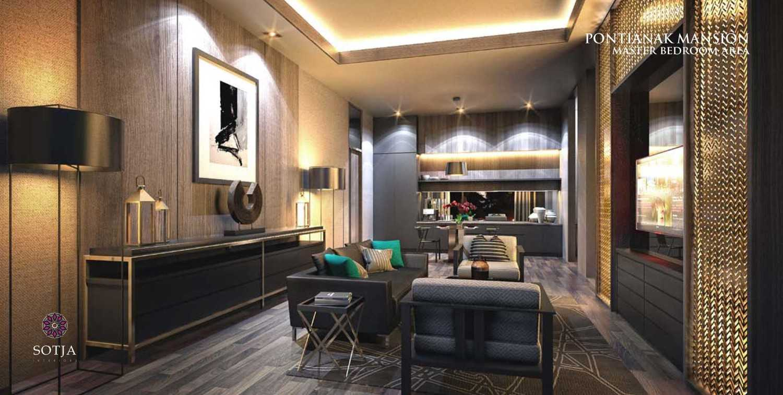 Foto inspirasi ide desain ruang keluarga modern Living room oleh SOTJA Interiors di Arsitag