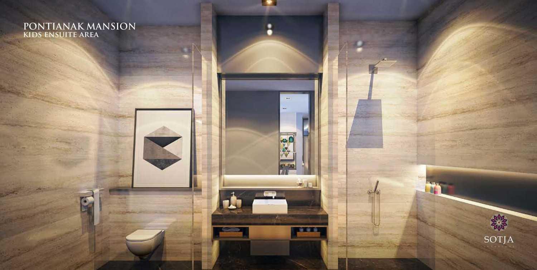 Foto inspirasi ide desain kamar mandi minimalis Ensuite area oleh SOTJA Interiors di Arsitag