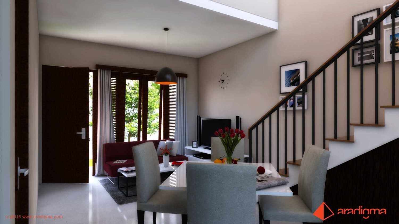 Aradigma Rumah Arjuna Malang Malang Living And Dining Room Modern 18746