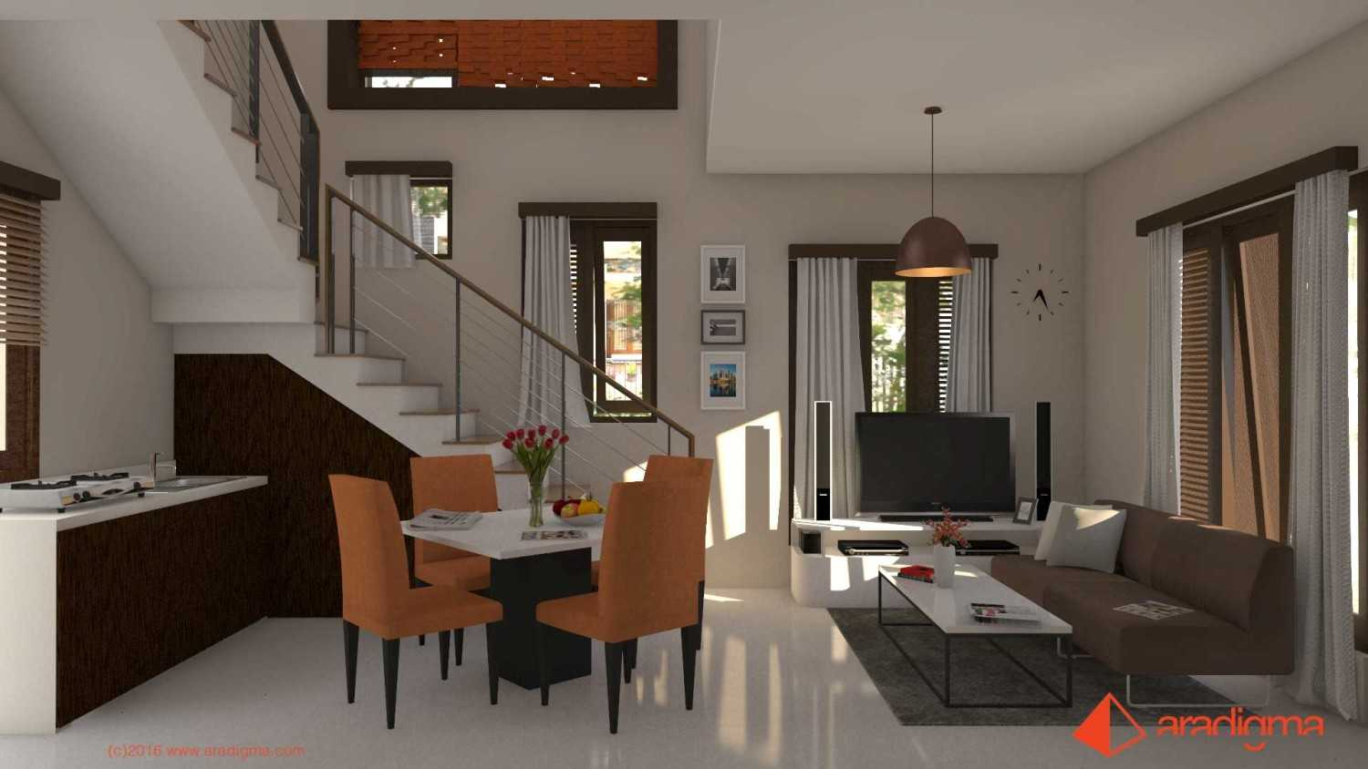 Aradigma Rumah Bima Malang Malang Living And Dining Room Tropis,minimalis,kontemporer 20105