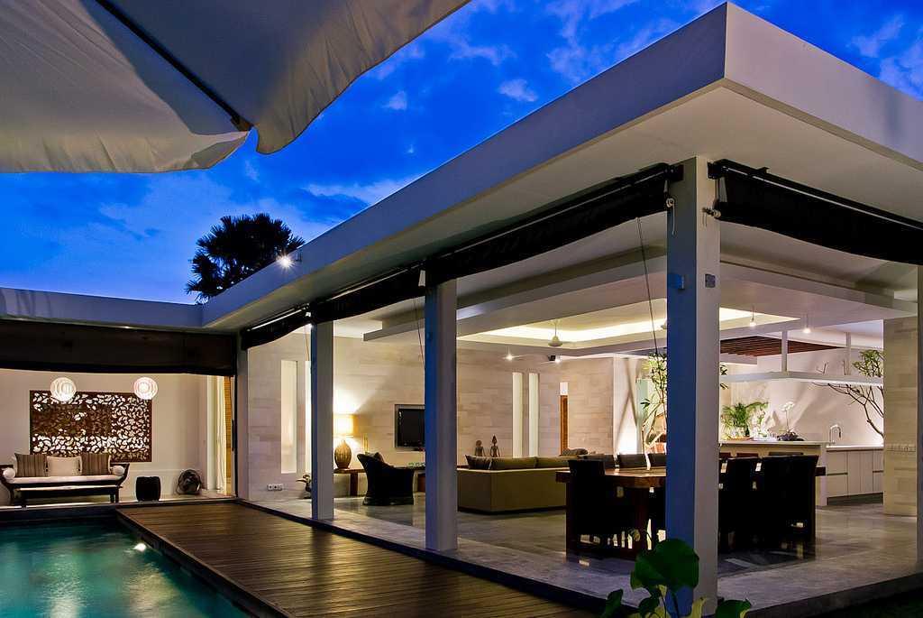Og Architects Bersantai Villa At Seminyak Bali, Indonesia Bali, Indonesia Living-And-Dining-Area Kontemporer 9222