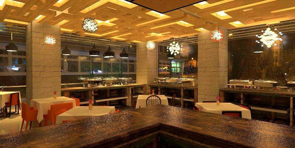 Egalite Availa Resto Jogjakarta Jogjakarta Dining Area  9389