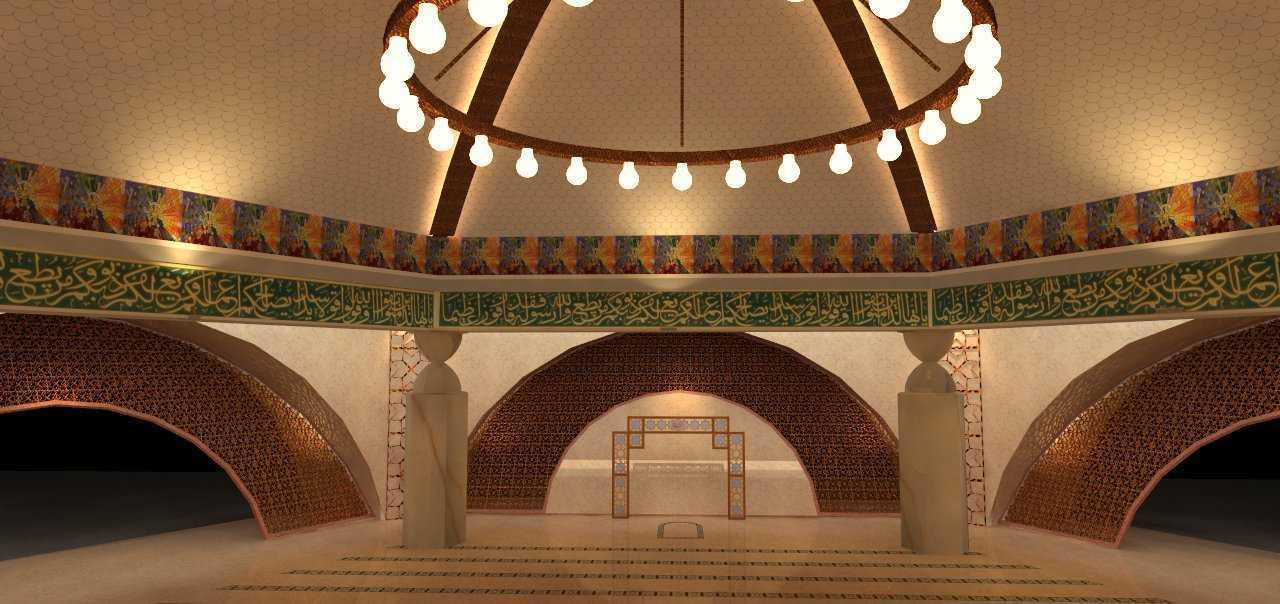 Egalite Masjid Smb Ii Bandara Palembang Bandara Palembang Interior-1  15487