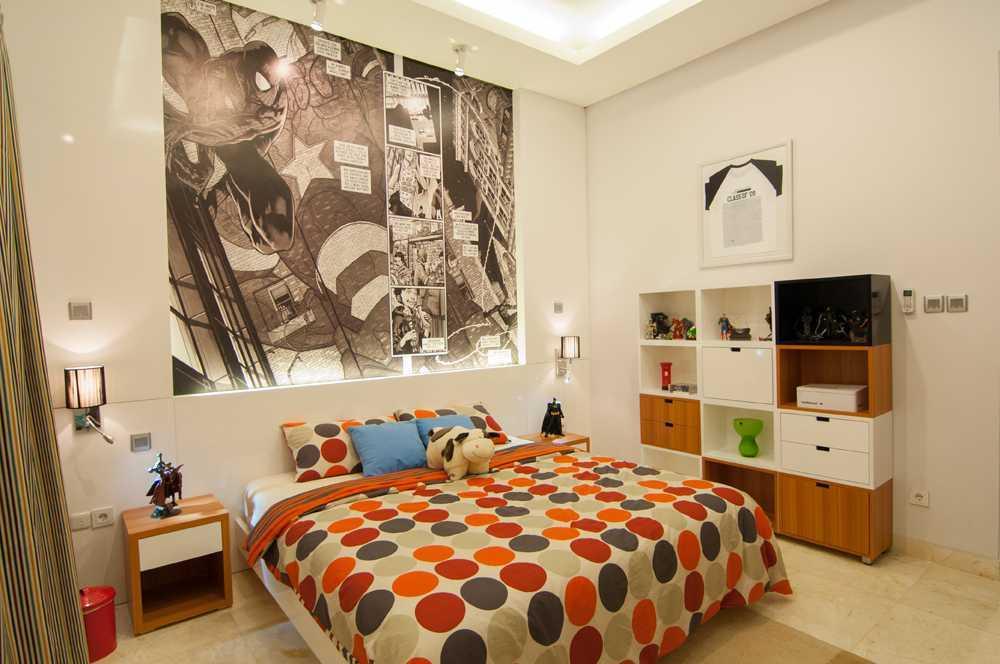 Vindo Design Kemang Residence Jakarta, Indonesia Jakarta, Indonesia Bedroom Modern 9255