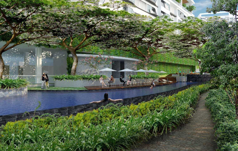 Pt. Atelier Una Indonesia Cinere Mansion Depok, West Java, Indonesia Depok, West Java, Indonesia Swimming-Pool-Area Modern 9471