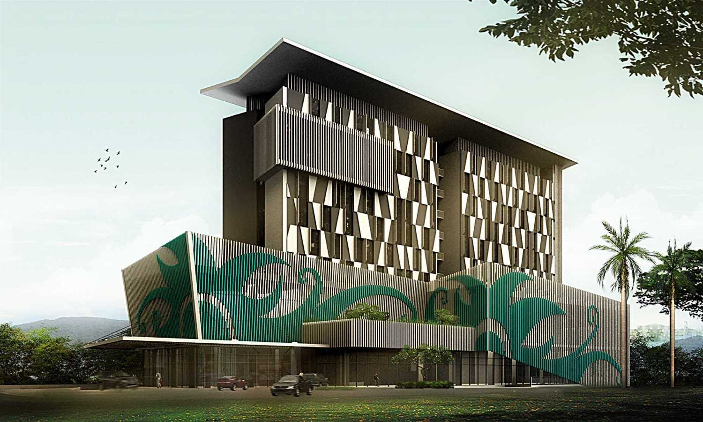 Foto inspirasi ide desain pintu masuk tradisional Man-eye-view oleh PT. Atelier Una Indonesia di Arsitag