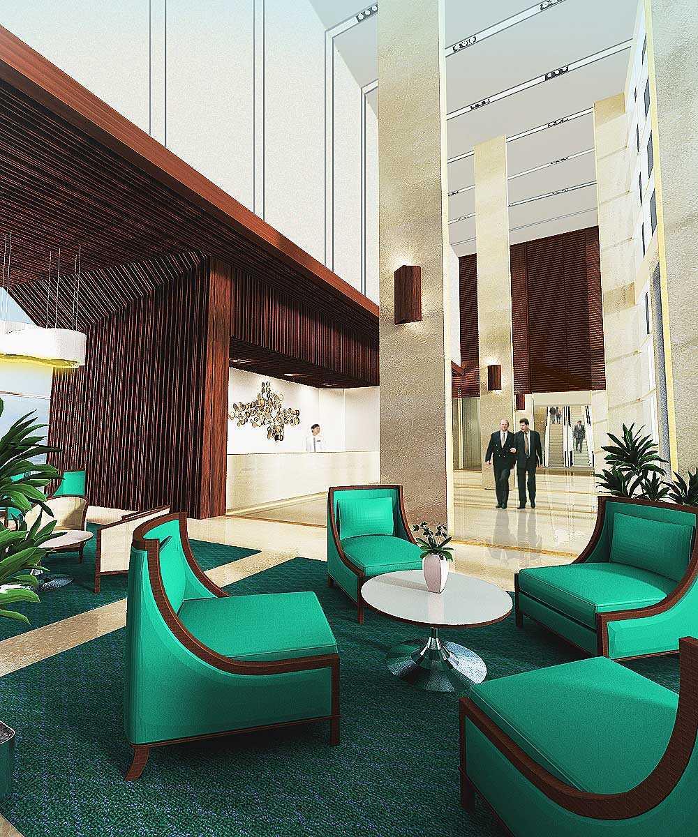 Foto inspirasi ide desain lobby tradisional Lobby oleh PT. Atelier Una Indonesia di Arsitag
