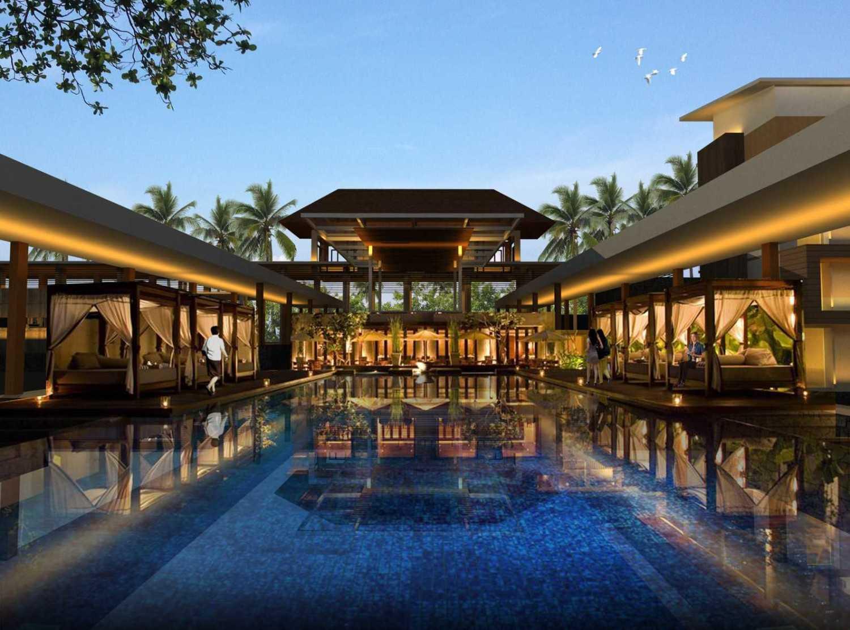 Pt. Atelier Una Indonesia Senggigi Resort Development Lombok, Indonesia Lombok, Indonesia Swimming-Pool-Area  9522
