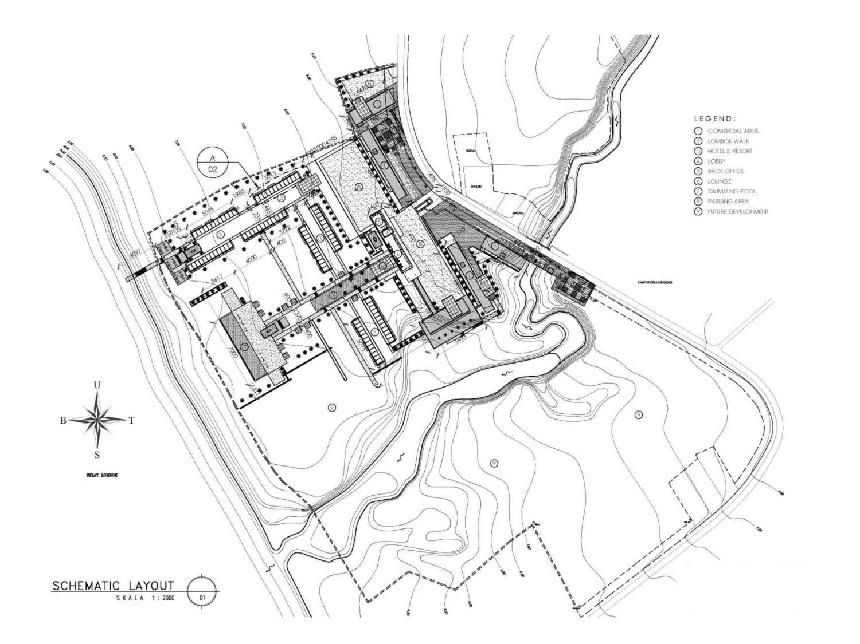 Pt. Atelier Una Indonesia Senggigi Resort Development Lombok, Indonesia Lombok, Indonesia Schematic-Layout  9524