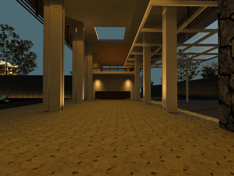 Foto inspirasi ide desain lobby tradisional Lobby area oleh PT. Atelier Una Indonesia di Arsitag