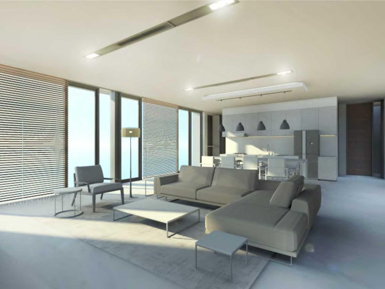 Nimara Architects  Dh Modern House Jakarta, Indonesia Jakarta, Indonesia Livingroom Modern 10796