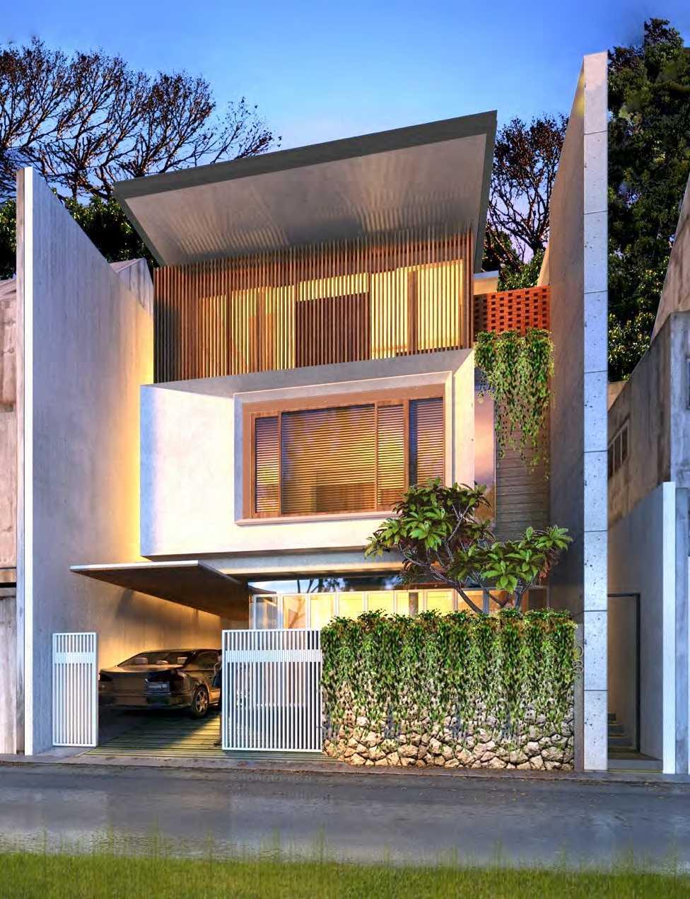 Nimara Architects  Nouval House Jakarta, Indonesia Jakarta, Indonesia Front-View Kontemporer 10876