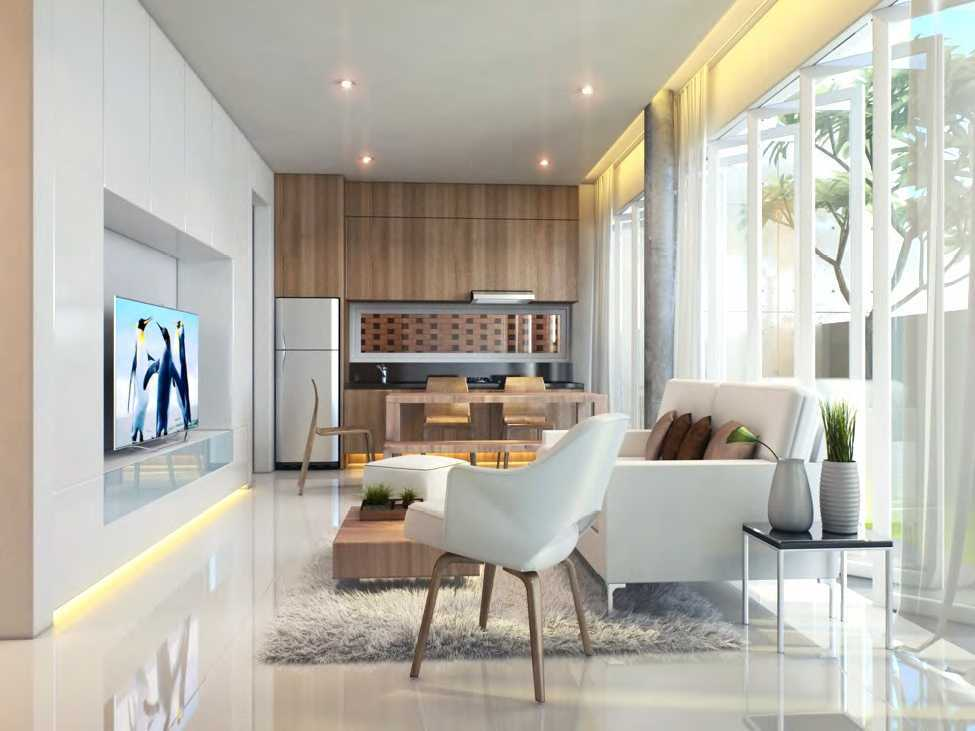 Nimara Architects  Nouval House Jakarta, Indonesia Jakarta, Indonesia Livingroom Kontemporer 10878