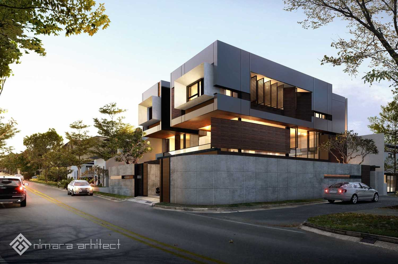 Nimara Architects  Dh House Jakarta Barat Jakarta Barat Facade-1-Lowres Kontemporer,minimalis,modern 16998