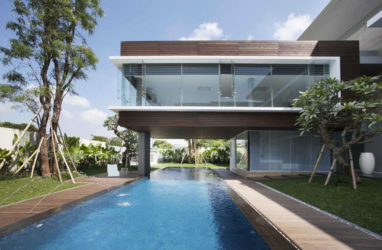 Das Quadrat Selat House Surabaya, Indonesia Surabaya, Indonesia Swimming Pool Area  9377