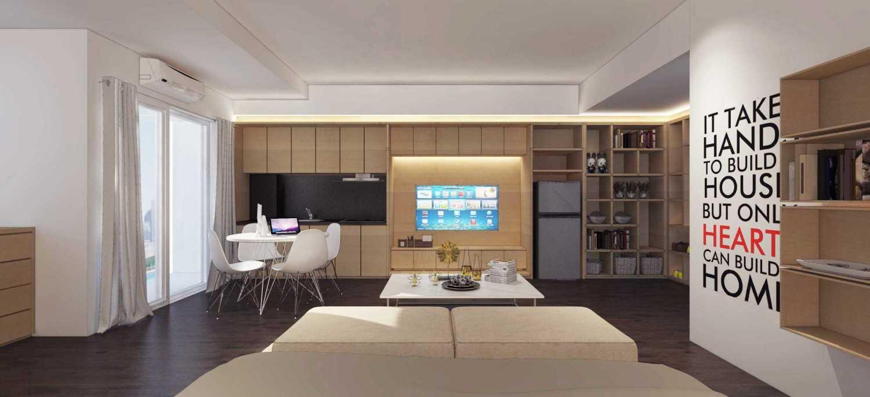Ari Wibowo Design (Aw.d) R Apartment Kebun Jeruk, Jakarta Kebun Jeruk, Jakarta Living And Dining Room Modern 10005