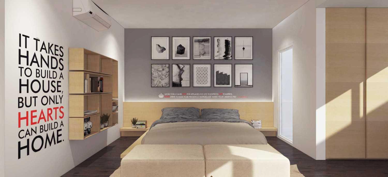 Ari Wibowo Design (Aw.d) R Apartment Kebun Jeruk, Jakarta Kebun Jeruk, Jakarta Bedroom Modern 10006