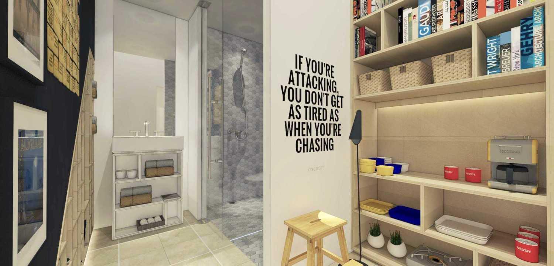 Ari Wibowo Design (Aw.d) 3X3 Loft Jakarta Jakarta Room Modern 11310
