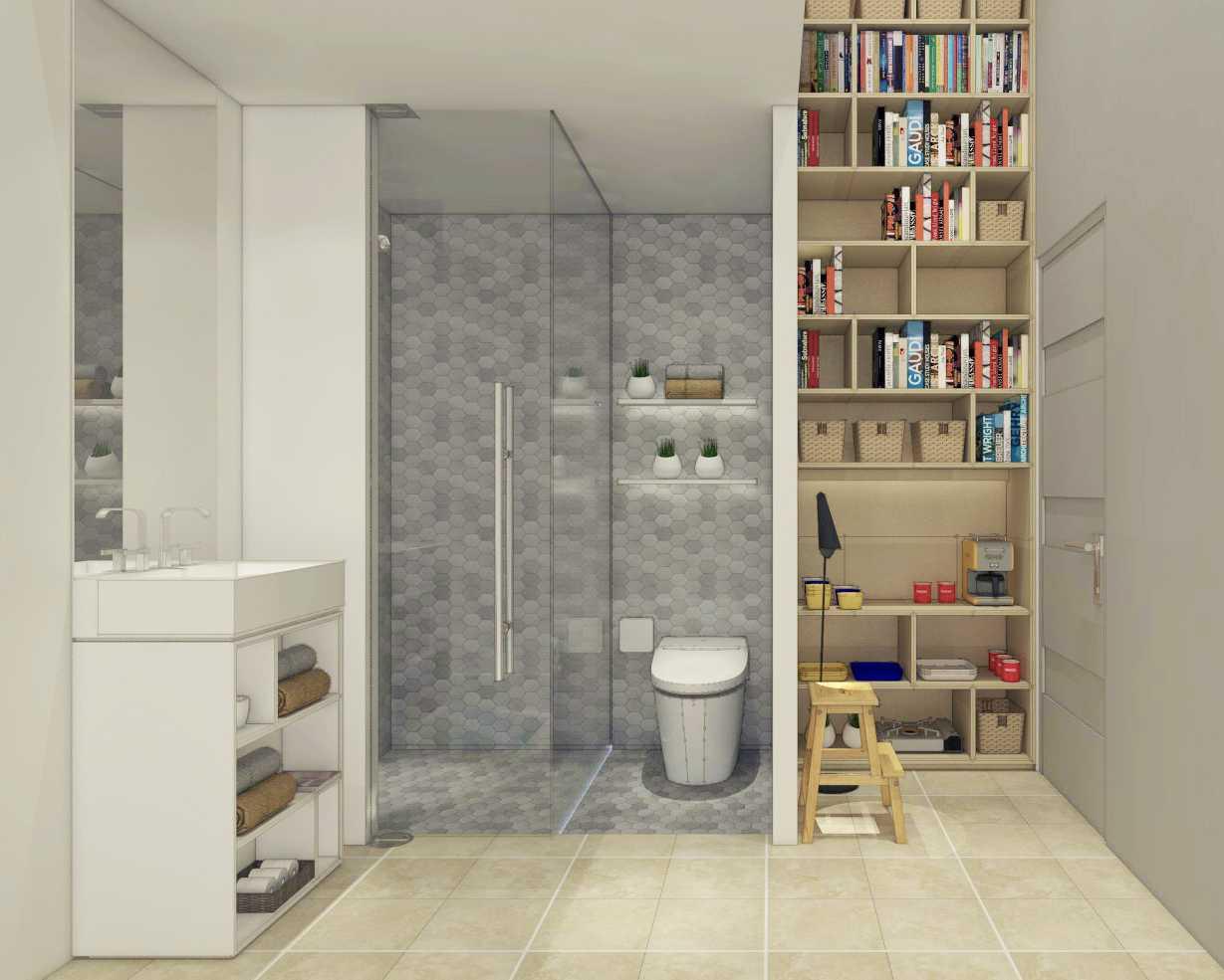 Ari Wibowo Design (Aw.d) 3X3 Loft Jakarta Jakarta Bathroom Modern 11312
